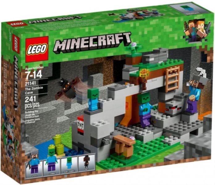 Stavebnice LEGO® Jeskyně se zombie 21141
