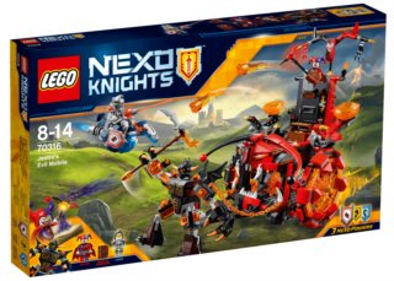 Stavebnice LEGO® Nexo Knights 70316 Jestrovo hrozivé vozidlo