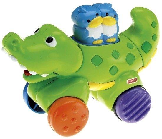 Fisher-Price - Jezdící zvířátko krokodýl N8160