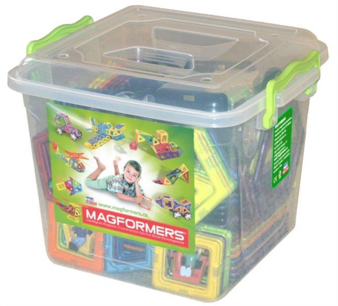 Magnetická stavebnice MAGFORMERS Jumbo Box 147 dílků