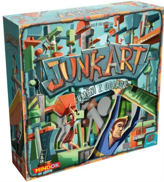 Společenská hra Junk Art: Umění z odpadu, MINDOK