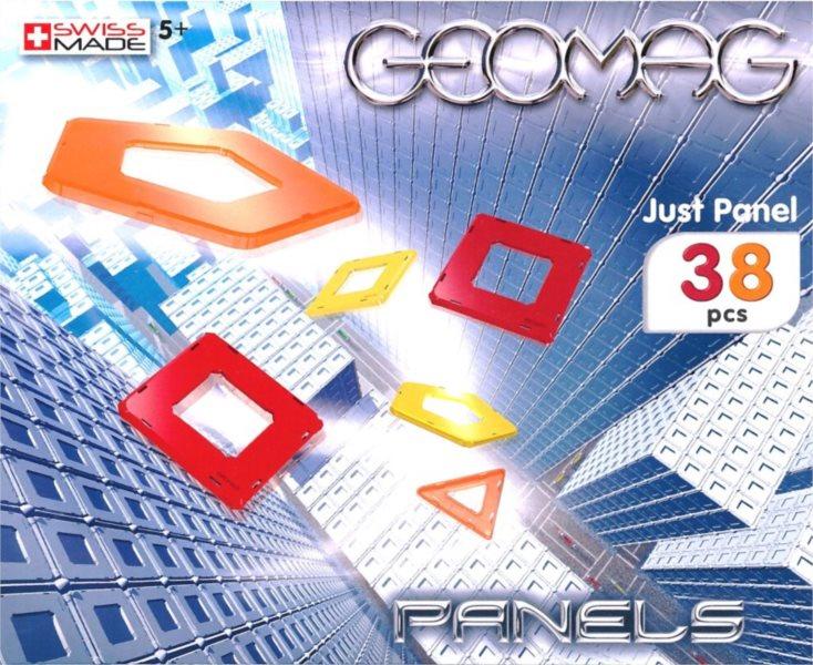 Barevné výplně GEOMAG - Just Panels 38 dílků