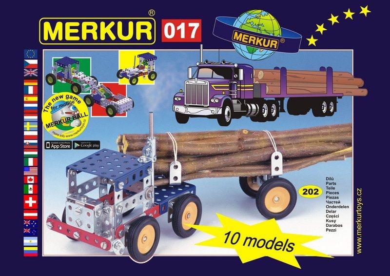 Stavebnice MERKUR - Kamión M017