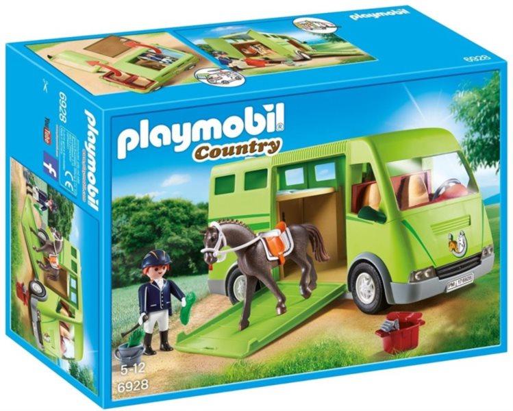 PLAYMOBIL Kamión pro přepravu koně 6928
