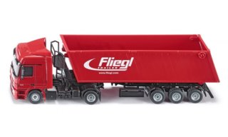 SIKU 35237 Kamion s vyklápěcí vlečkou (1:50)
