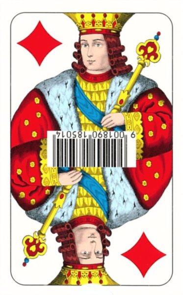 Hrací karty Pikety - dvouhlavé, 32 listů, PIATNIK