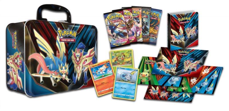 Karty Pokémon Collector Chest 2020
