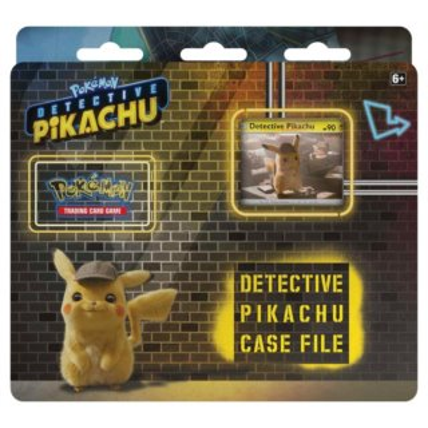 Karty Pokémon Detective Pikachu Case