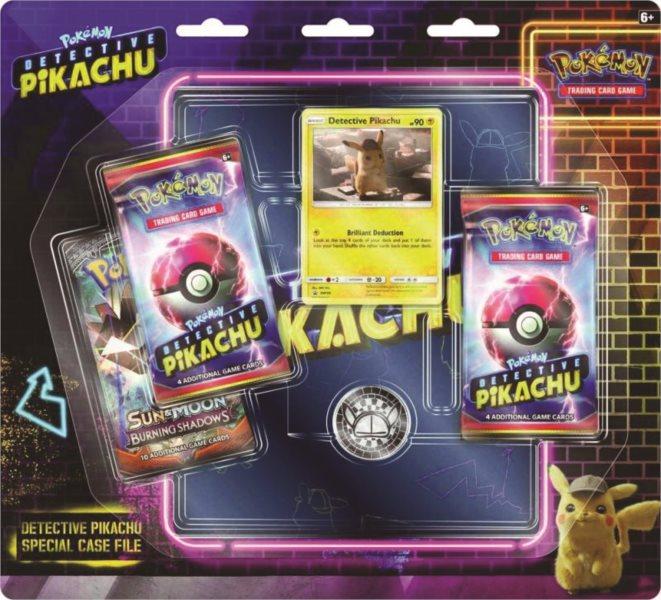 Karty Pokémon Detective Pikachu Special Case