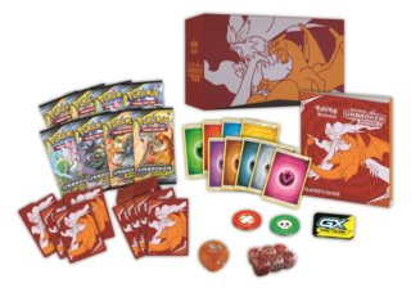 Karty Pokémon Elite Trainer Box Unbroken Bonds