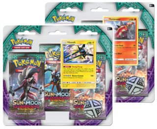 Karty Pokémon Sun and Moon: Guardians Rising Blister Booster