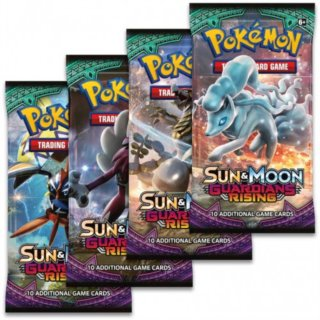 Karty Pokémon Sun and Moon: Guardians Rising Booster