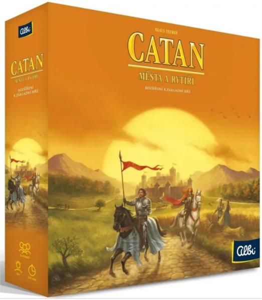 ALBI Catan - Města a rytíři (rozšíření)