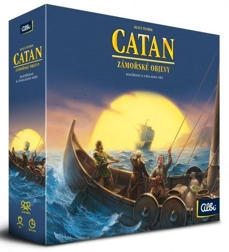 Desková hra Katan: Zámořské objevy (rozšíření), ALBI