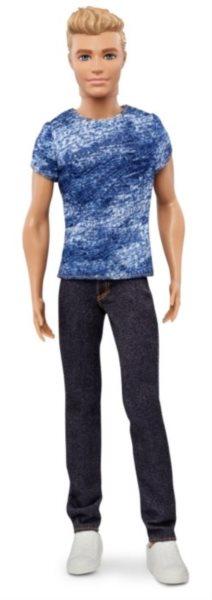 MATTEL Ken model v modrém tričku