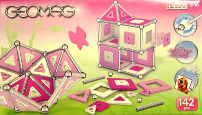 Magnetická stavebnice GEOMAG - Kids Color Girl 142 dílků