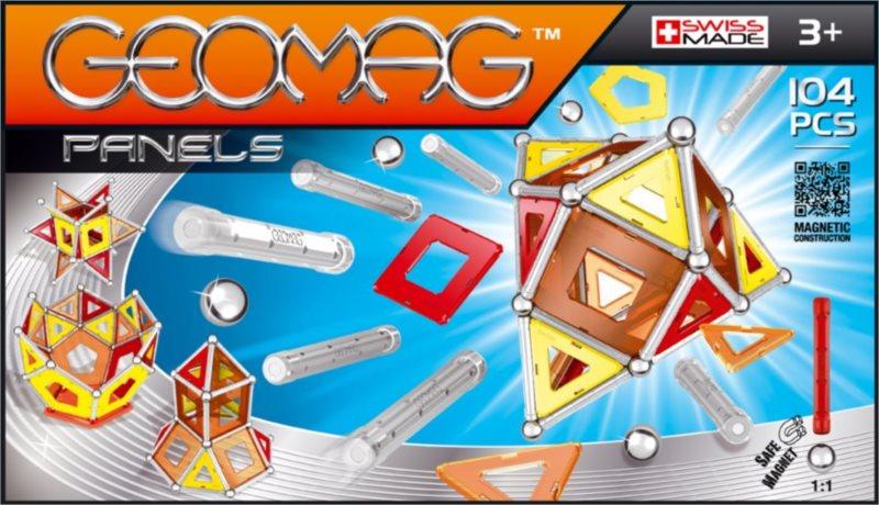 Magnetická stavebnice GEOMAG - Kids Panels 104 dílků