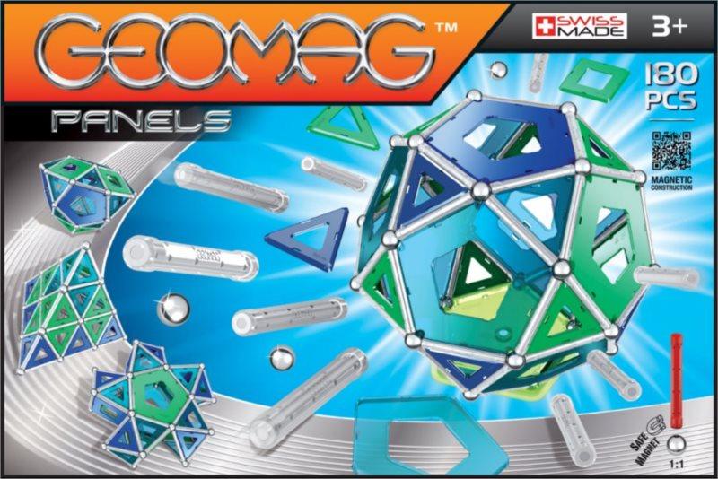 Magnetická stavebnice GEOMAG - Kids Panels 180 dílků