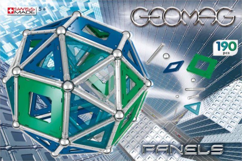 Magnetická stavebnice GEOMAG - Kids Panels 190 dílků