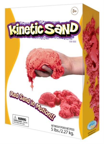 Kinetický písek KINETIC SAND™ červený 2,27 kg