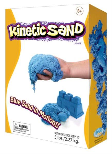 Kinetický písek KINETIC SAND™ modrý 2,27 kg