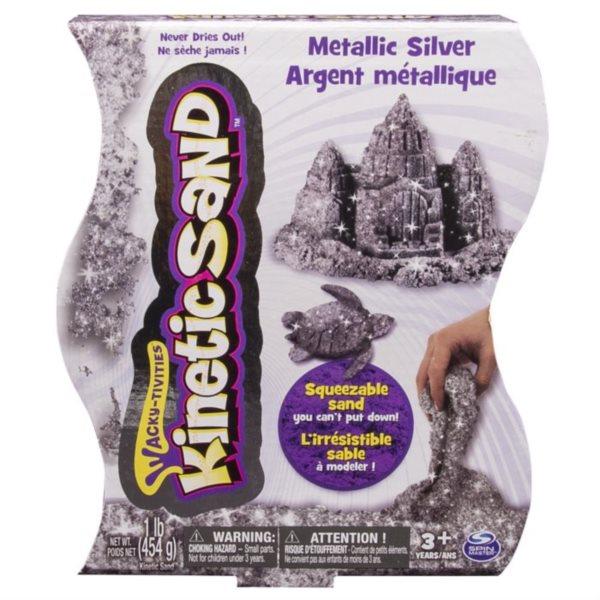 Kinetický písek KINETIC SAND™ stříbrný 454 g