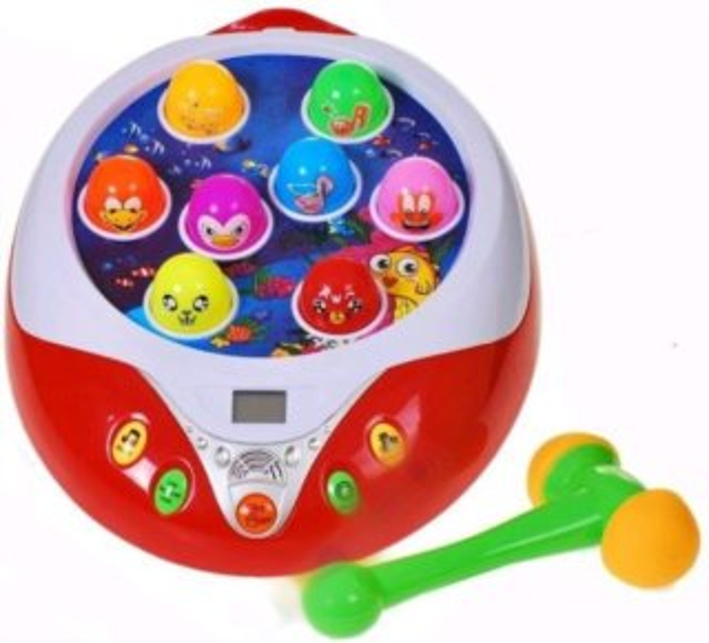 poškozený obal: Dětská hra : Kladívková hra pro nejmenší ENJOY BEAT