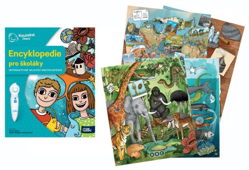 ALBI Kouzelné čtení Kniha: Encyklopedie pro školáky