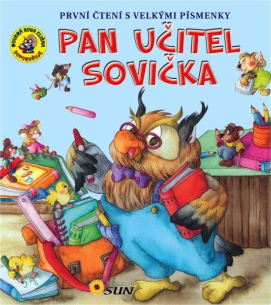 Kniha První čtení s velkými písmenky: Pan učitel Sovička, Nakladatelství SUN