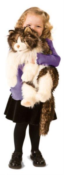 Kočka velká Ragdoll (pohyblivý plyšák na ruku), FOLKMANIS PUPPETS