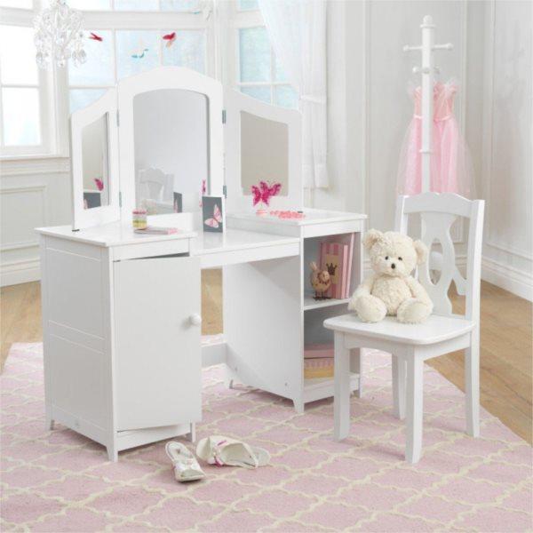 KIDKRAFT Kosmetický stůl s židličkou Deluxe