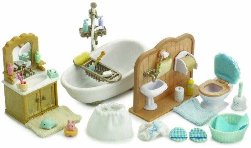 Sylvanian Families 5034 Koupelna s toaletou