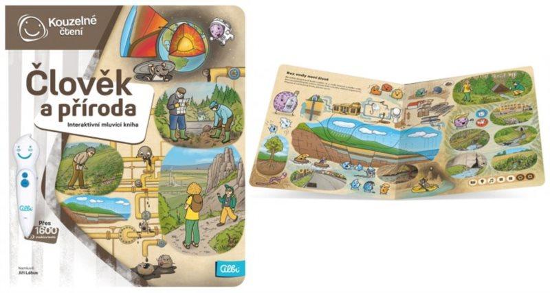 ALBI Kouzelné čtení Kniha: Člověk a příroda