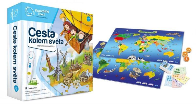 ALBI Kouzelné čtení: Cesta kolem světa