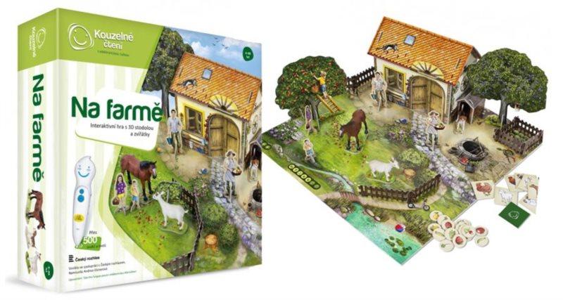 ALBI Kouzelné čtení: Hra Na farmě