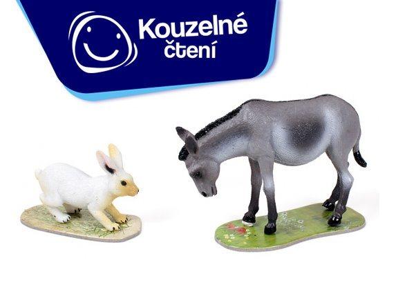 ALBI Kouzelné čtení: Hra Na farmě rozšíření - Osel a králík