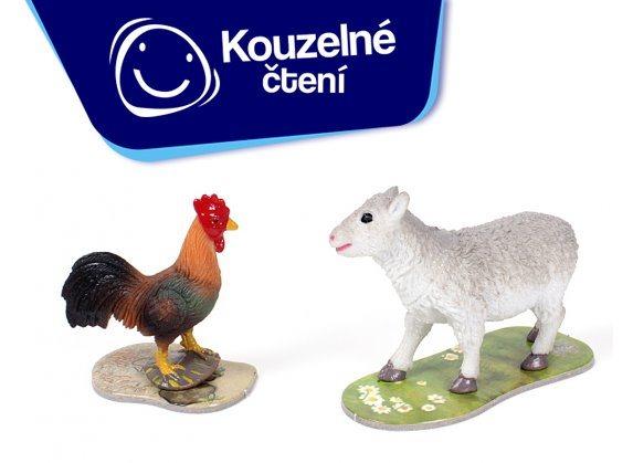 ALBI Kouzelné čtení: Hra Na farmě rozšíření - Ovce a kohout