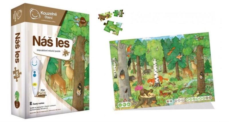 ALBI Kouzelné čtení: Puzzle Náš les