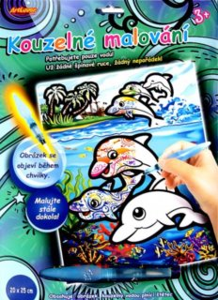 ARTLOVER Kouzelné malování - Delfíni