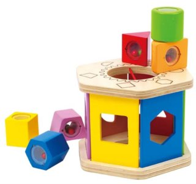 HAPE Krabička na vkládání geometrických tvarů
