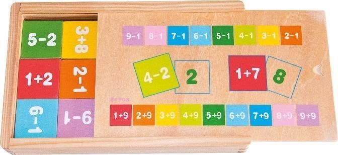 WOODY, Krabička: Sčítání a odčítání