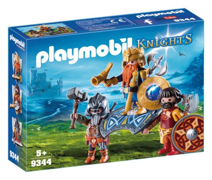 PLAYMOBIL Král trpaslíků s ochránci 9344