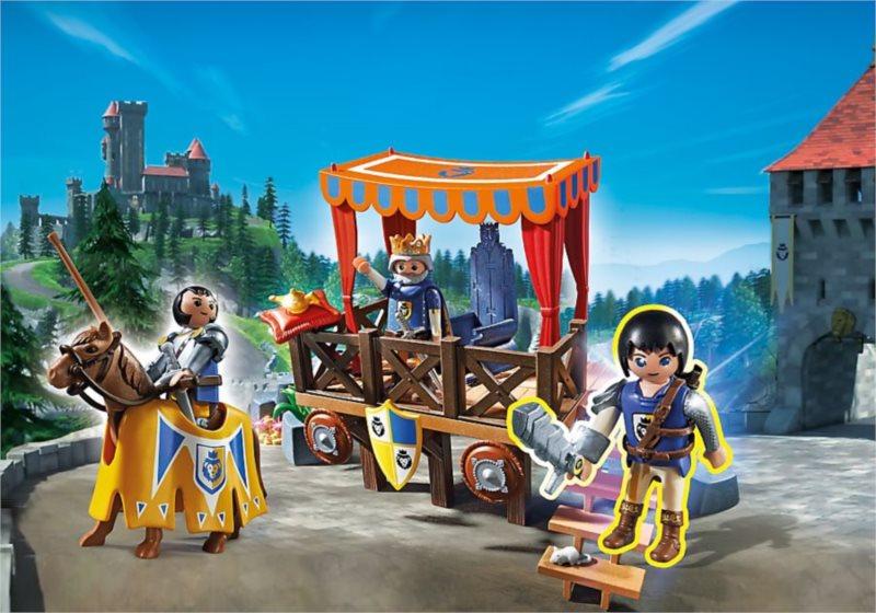 Playmobil 6695 Super 4: Královská tribuna s Alexem