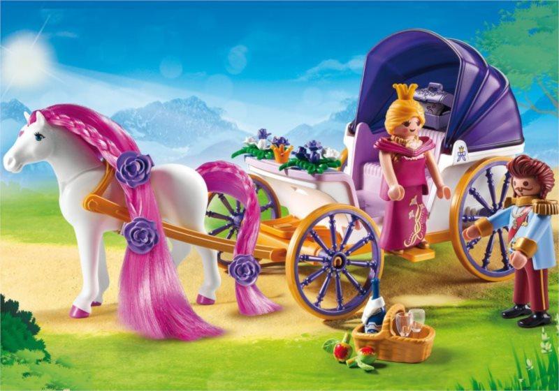PLAYMOBIL Královský pár s kočárem 6856