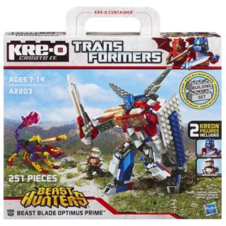 KRE-O Transformers: Beast Hunters - Optimus Prime