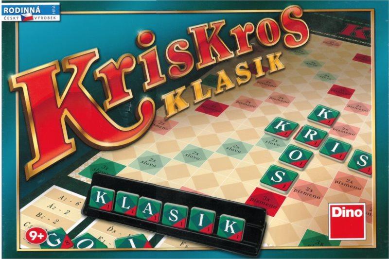 Společenská hra se slovy Kris Kros Klasik, DINO