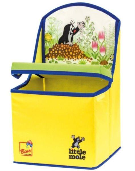 Sedátko - box na hračky Krtek BINO 13794