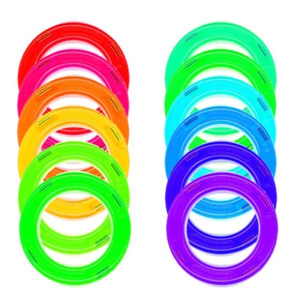 Kruhy 12 ks ve fólii