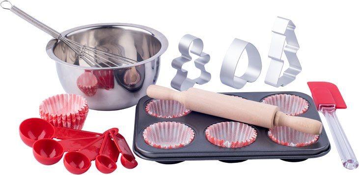 WOODY Kuchyňský set v kufříku - Pečeme muffiny