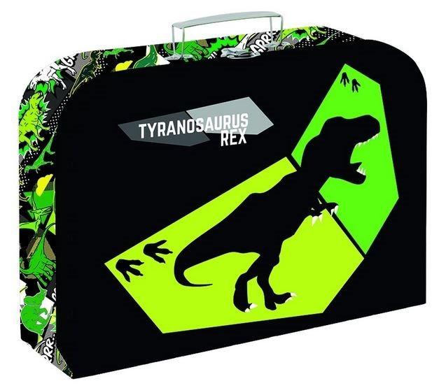 KARTON P+P Kufřík 34cm Tyranosaurus Rex